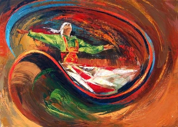 Sufi dance by Taher Abdel-Azim